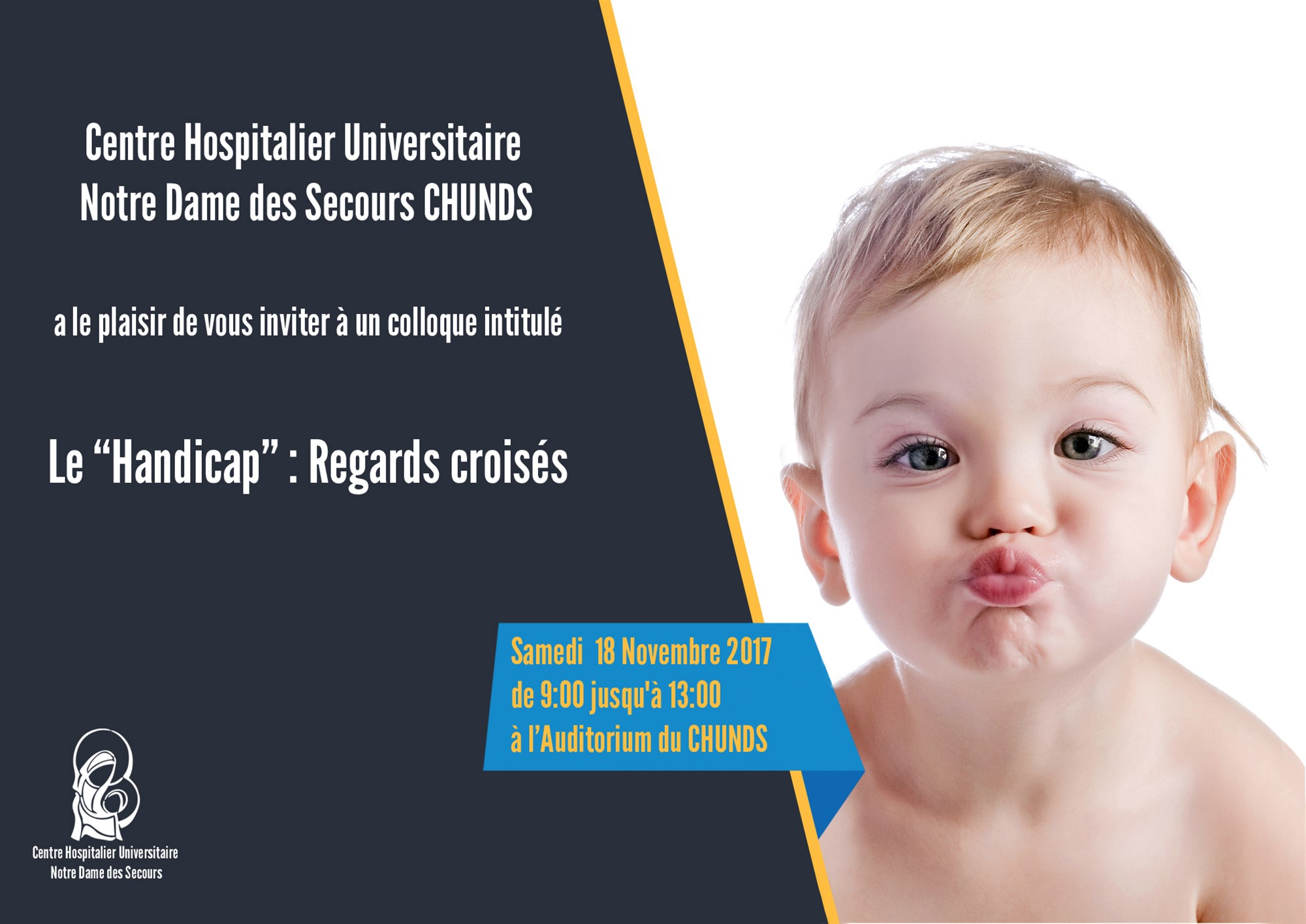 "Colloque ""Handicap"" Regards croisés"