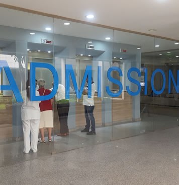 Your Admission