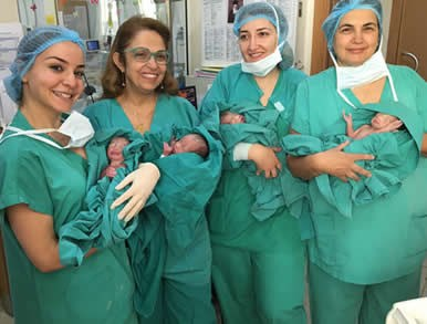 Birth of the quadruplet