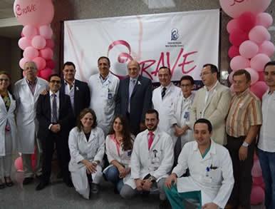 Campagne de sensibilisation au cancer du sein