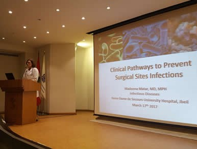 """ Infection prevention methods in the operating room"" conference"