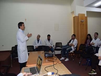 """conférence intitulée  """"Cancer de Prostate : dépistage, diagnostique et traitement"""
