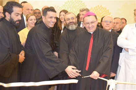 inauguration des nouveaux locaux de l'Oncologie-Hématologie, Radiothérapie, Greffe de moelle et Soins de support